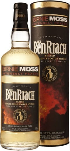 BenRiach - Birnie Moss Peated Speyside 70cl Bottle