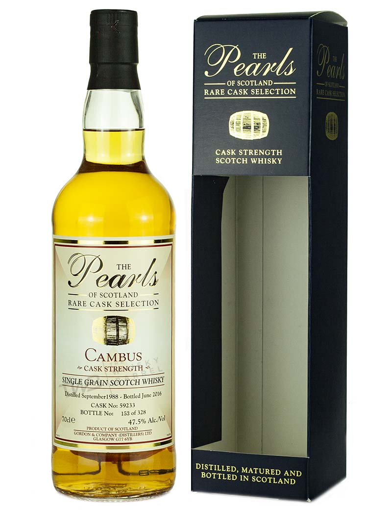 Cambus 27 Year Old 1988 Pearls Of Scotland