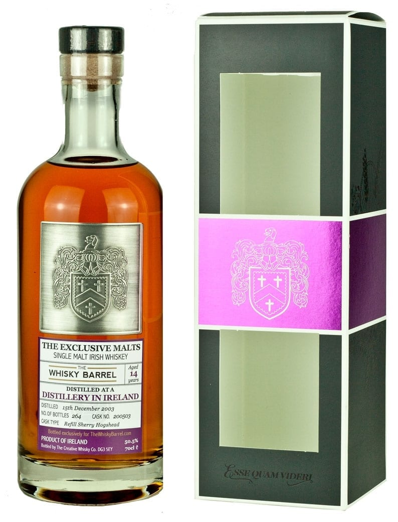 Cooley 14 Year Old 2003 Exclusive Malts Exclusive