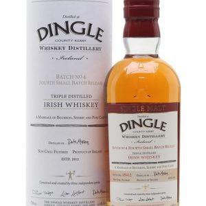 Dingle Triple Distilled Batch 4 Irish Single Malt Whiskey