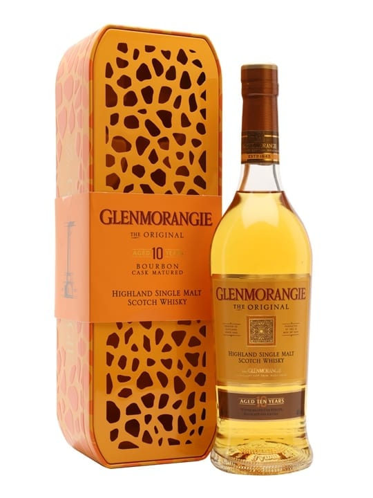 Glenmorangie 10 Year Old Original / Giraffe Edition Highland Whisky