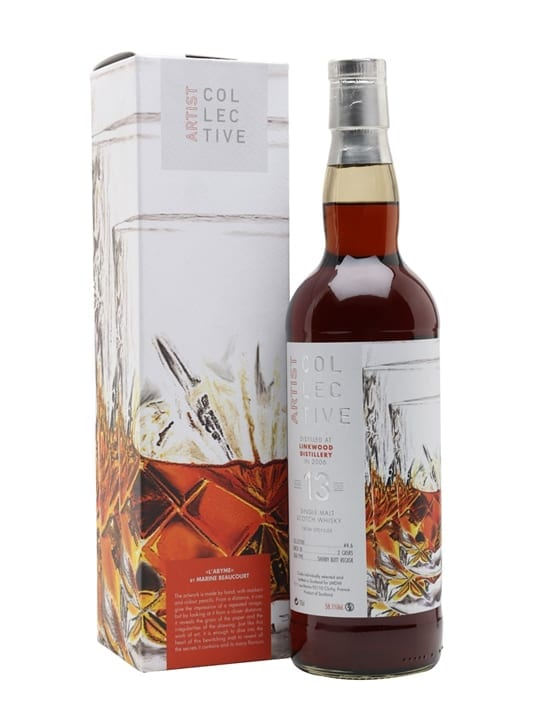 Linkwood 2006 / 13 Year Old / Artist Collective 4.6 Speyside Whisky