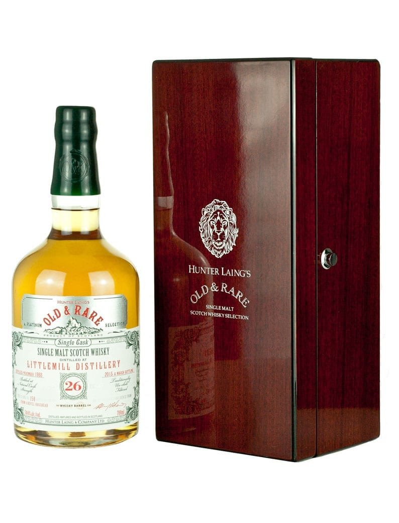 Littlemill 26 Year Old 1988 Old & Rare Exclusive