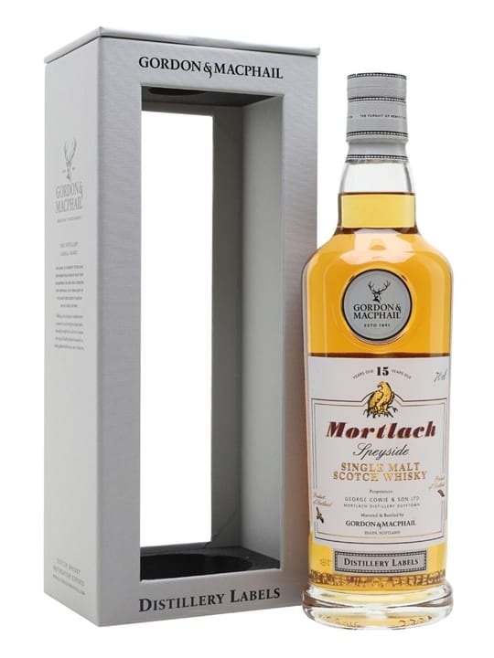 Mortlach 15 Year Old / G&M Distillery Labels Speyside Whisky
