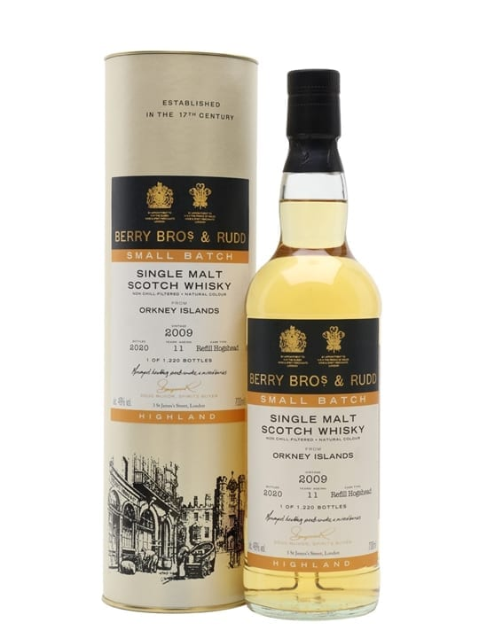 Orkney 2009 / 11 Year Old / Berry Bros Small Batch Island Whisky
