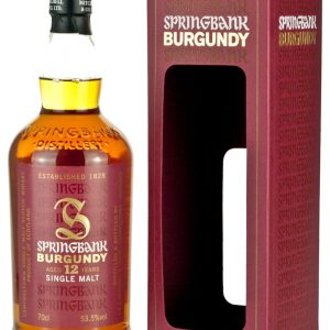 Springbank 12 Year Old Burgundy Wood
