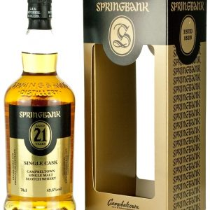 Springbank 21 Year Old Single Oloroso Cask