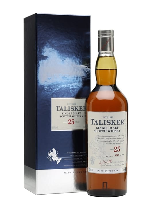 Talisker 25 Year Old / Bot.2013 Island Single Malt Scotch Whisky