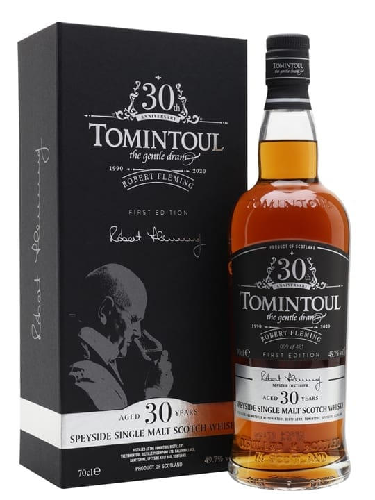 Tomintoul 30 Year Old / Robert Fleming 30th Anniversary / 1st Release Speyside Whisky