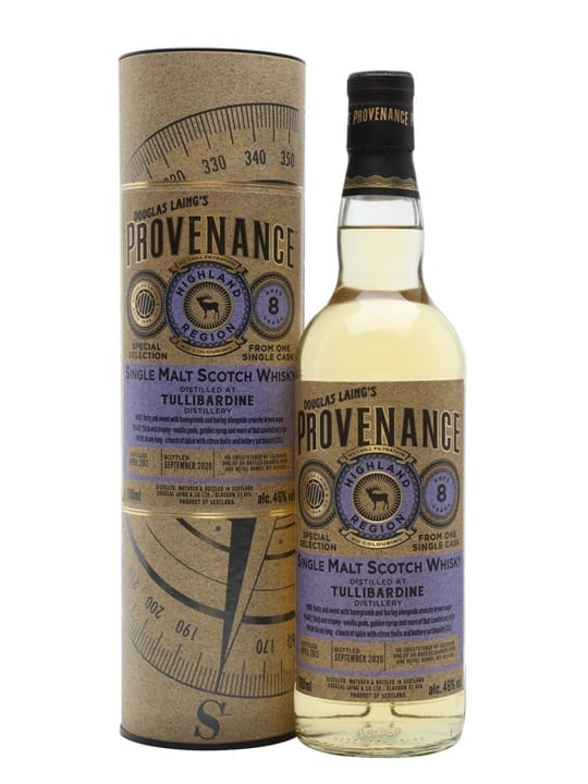 Tullibardine 2012 / 8 Year Old / Provenance Highland Whisky