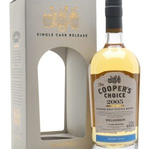 Williamson 2005 Islay Blended Malt / 12 Year Old / The Cooper's Choice Islay Whisky