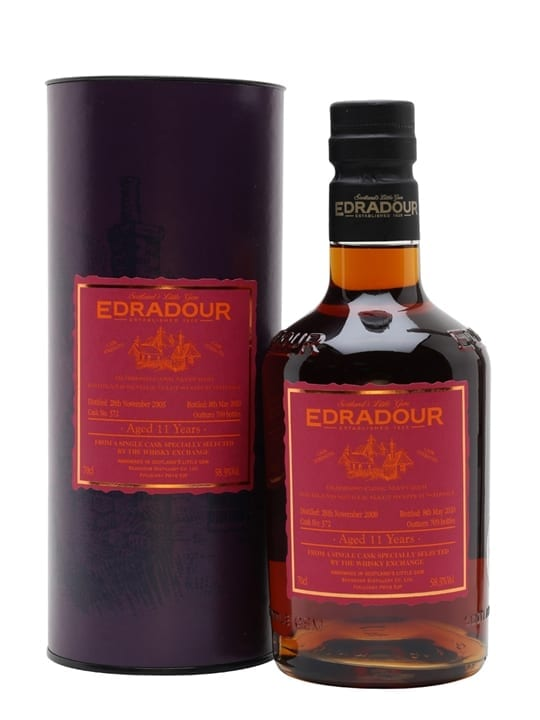 Edradour 2008 / 11 Year Old / Sherry Cask / TWE Exclusive Highland Whisky