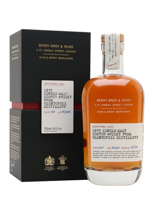 Glenburgie 1975 / 45 Year Old / Berry Bros Exceptional Casks Speyside Whisky