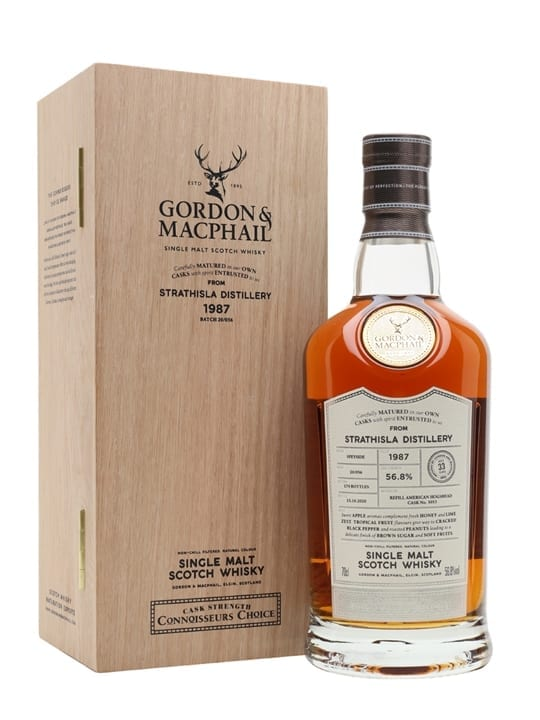 Strathisla 1987 / 33 Year Old / Connoisseurs Choice Speyside Whisky