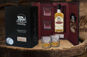 Ballykeefe First Release Cask Strength Single Pot Still Irish Whiskey Presentation Box