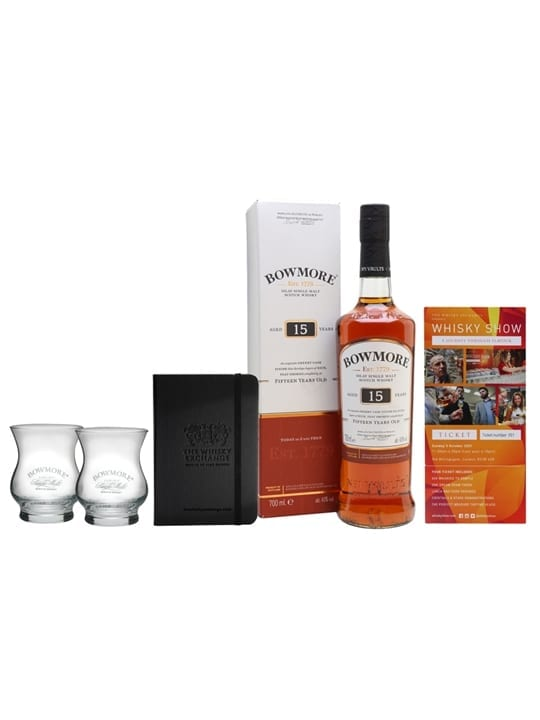 Bowmore 15 Year Old Whisky Show Package / 1 Ticket Islay Whisky
