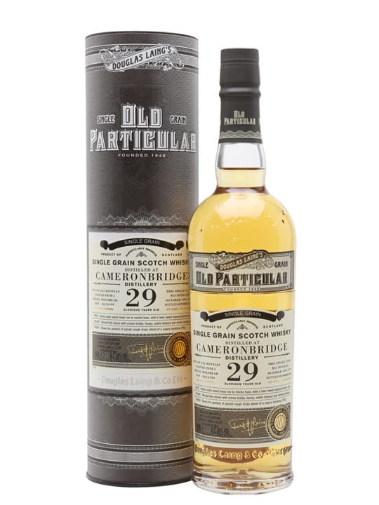 Cameronbridge 1991 / 29 Year Old / Old Particular Lowland Whisky