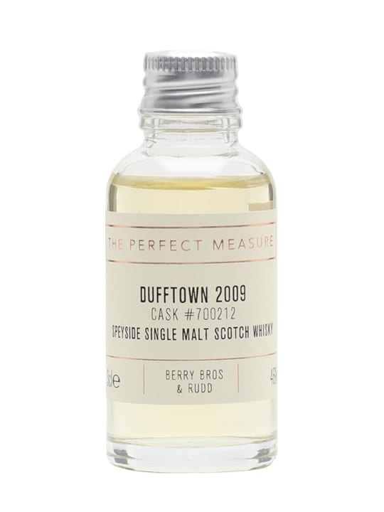Dufftown 2009 Sample / 9 Year Old / Berry Bros & Rudd Speyside Whisky