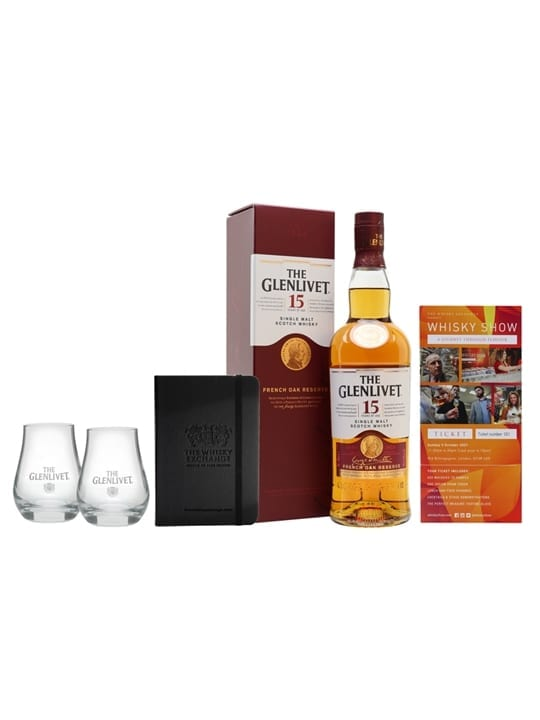 Glenlivet 15 Year Old Whisky Show Package / 1 Ticket Speyside Whisky
