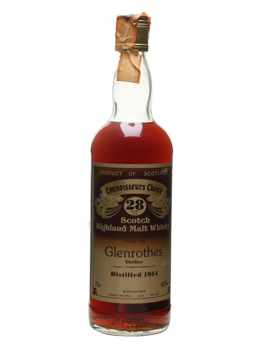 Glenrothes 1954 / 28 Year Old / Sherry Cask / Connoisseurs Choice Speyside Whisky