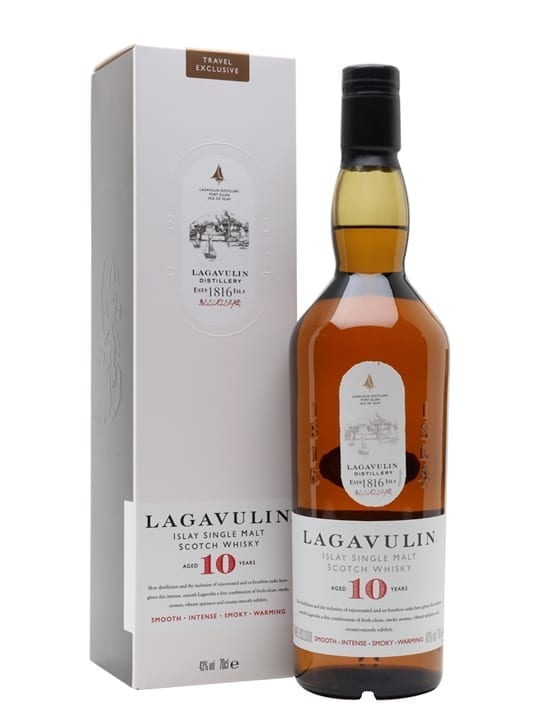 Lagavulin 10 Year Old Islay Single Malt Scotch Whisky