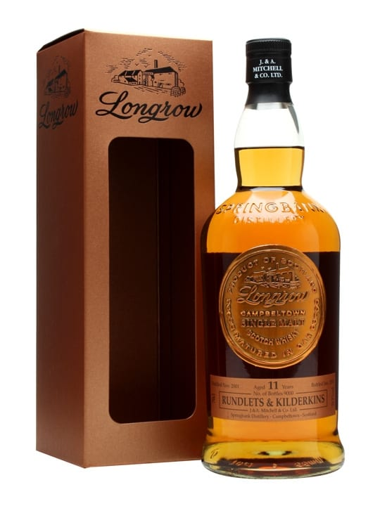 Longrow 2001 / 11 Year Old / Rundlets & Kilderkins Campbeltown Whisky