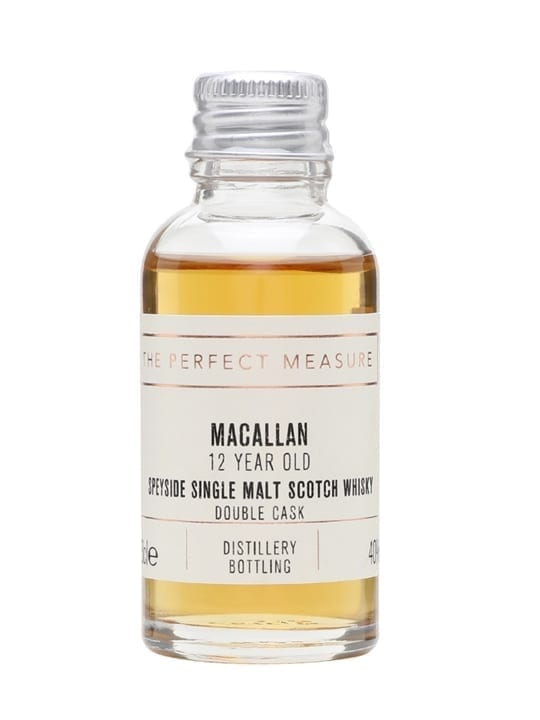Macallan 12 Year Old Double Cask Sample Speyside Whisky