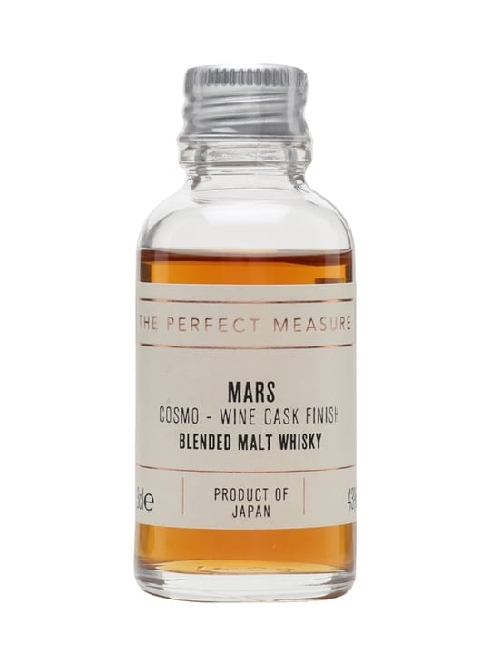 Mars Cosmo Wine Cask Finish Sample Japanese Blended Malt Whisky
