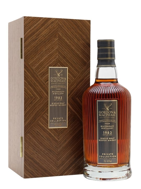 Miltonduff 1983 / 37 Year Old / Gordon & Macphail Private Collection Speyside Whisky
