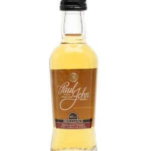 Paul John Brilliance Miniature Indian Single Malt Whisky