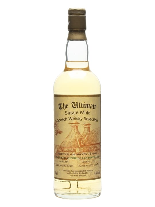 Port Ellen 1980 / 16 Year Old / Cask #89/589/28 / The Ultimate Islay Whisky