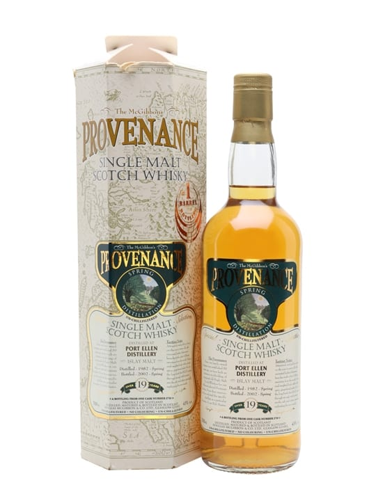 Port Ellen 1982 / 19 Year Old / Cask #2733 / Provenance Islay Whisky