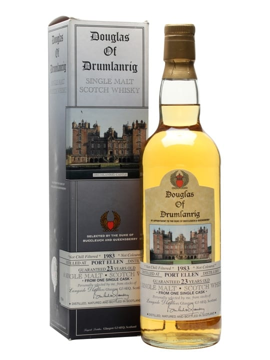 Port Ellen 1983 / 23 Year Old / Douglas of Drumlanrig Islay Whisky