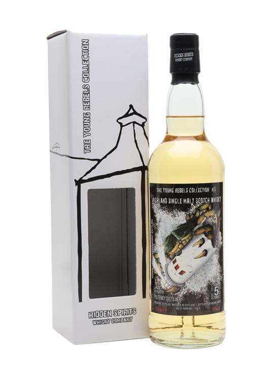 Pulteney 2012 / 5 Year Old / Hidden Spirits Highland Whisky
