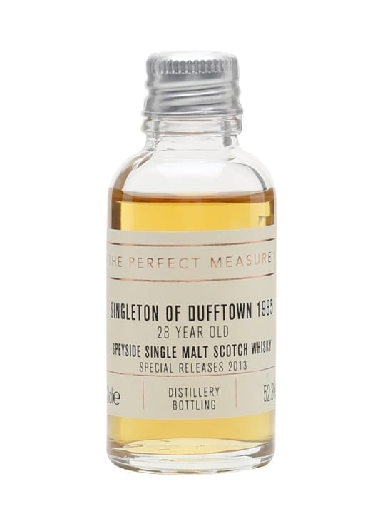 Singleton of Dufftown 1985 Sample / 28 Year Old Speyside Whisky