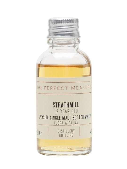 Strathmill 12 Year Old Sample / Flora & Fauna Speyside Whisky