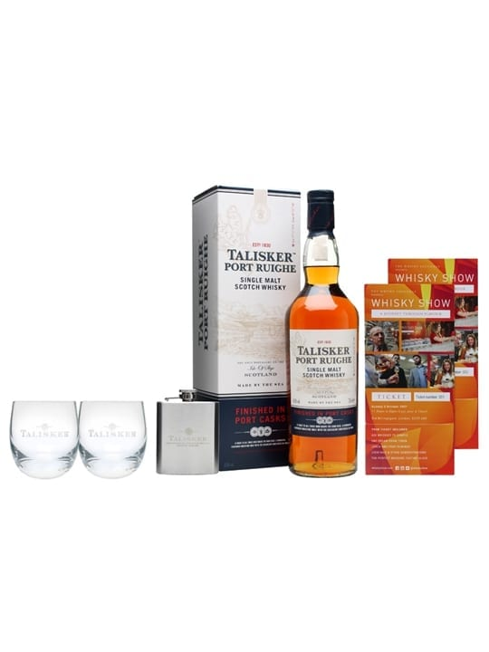 Talisker Port Ruighe Whisky Show Package / 2 Tickets Islay Whisky