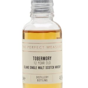 Tobermory 12 Year Old Sample Island Single Malt Scotch Whisky