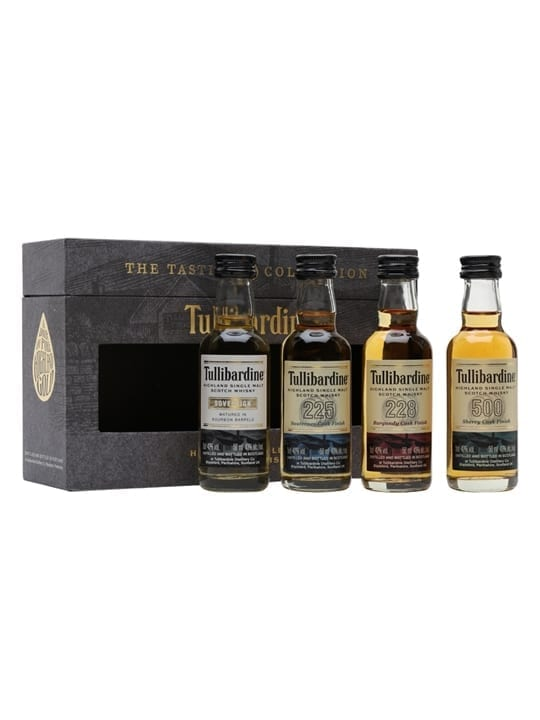 Tullibardine Tasting Collection / 4x5cl Highland Whisky