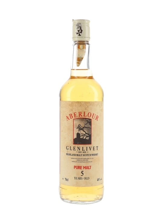 Aberlour 5 Year Old / Bot. Late 1980s Speyside Whisky
