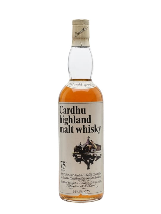 Cardhu 8 Year Old / Bot.1970s Speyside Single Malt Scotch Whisky