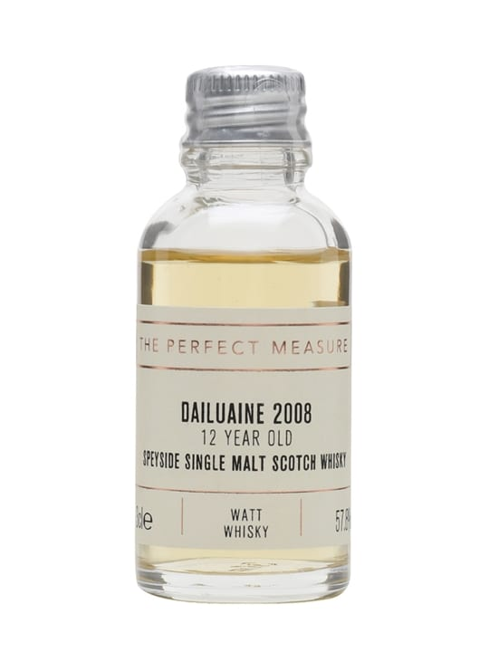 Dailuaine 2008 Sample / 12 Year Old / Watt Whisky Speyside Whisky