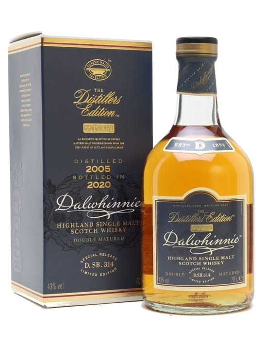 Dalwhinnie 2005 Distillers Edition / Bot.2020 Speyside Whisky