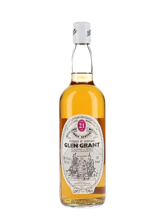 Glen Grant 21 Year Old / Bot.1970s / Gordon & Macphail Speyside Whisky