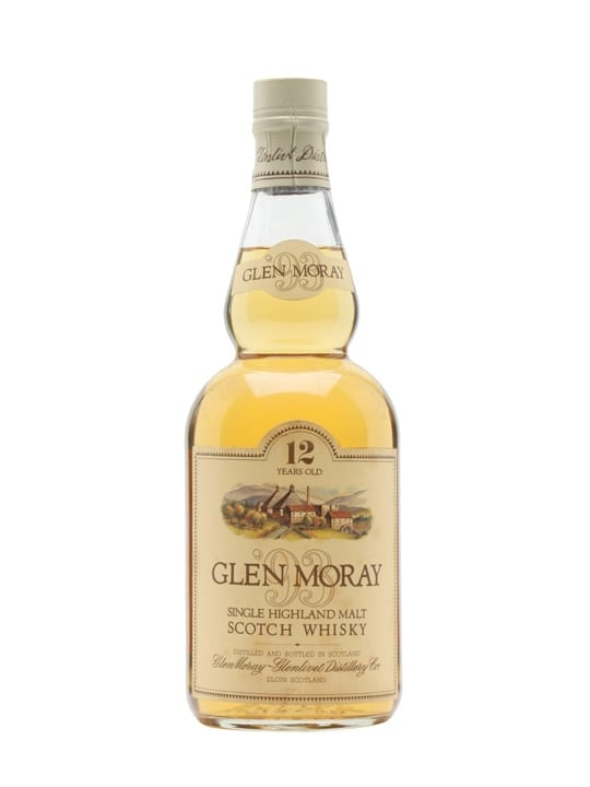 Glen Moray 12 Year Old / Bot.1980s / The Queen's Own Cameron Speyside Whisky