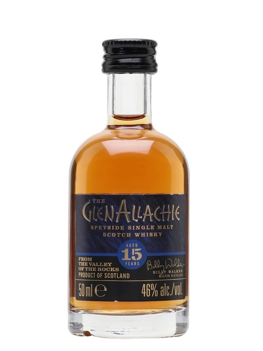 Glenallachie 15 Year Old / Miniature Speyside Whisky