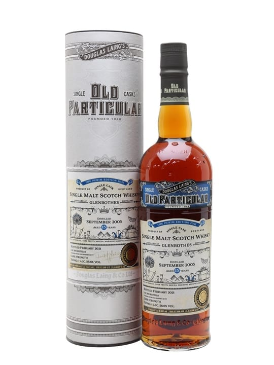 Glenrothes 2005 / 15 Year Old / Old Particular Purim Edition 2021 Speyside Whisky