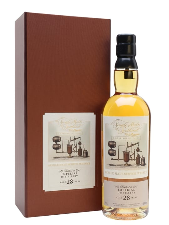 Imperial 28 Year Old Marriage / Single Malts of Scotland Speyside Whisky