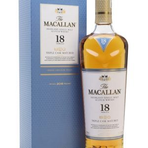Macallan 18 Year Old Triple Cask Matured / 2018 Release Speyside Whisky