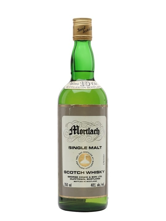 Mortlach 10 Year Old / Bot.1980s / George Cowie & Son Speyside Whisky